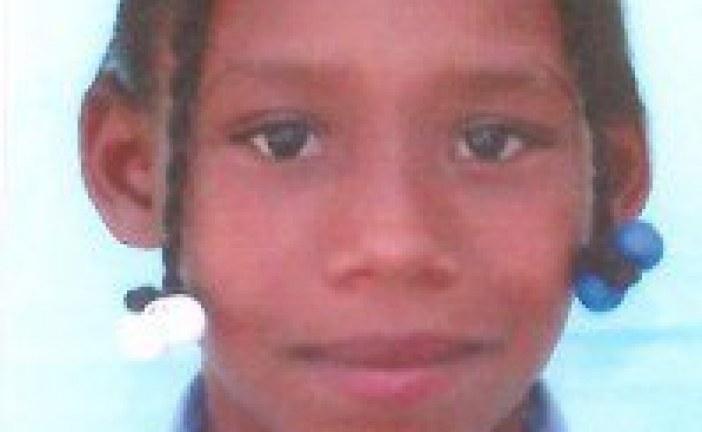 Desaparecida niña de 10 años en Las Matas de Farfán