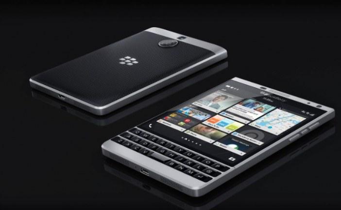 BlackBerry da a conocer un nuevo y extravagante teléfono inteligente