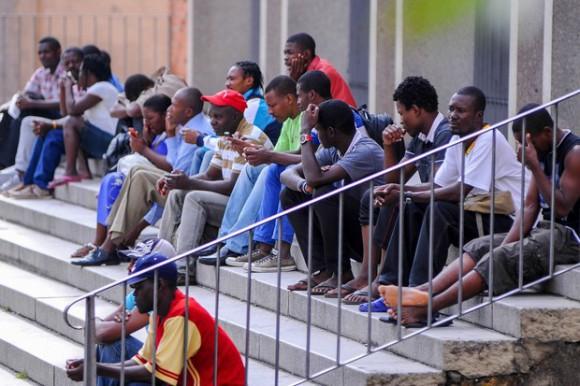 BRASIL: Rechazan inmigrantes haitianos; hieren 7 a perdigones