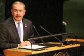 El presidente Medina hablará mañana ante la Asamblea General de la ONU
