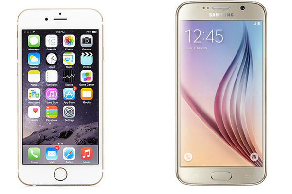 iPhone 6s vs. Samsung Galaxy S6