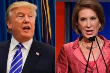 Trump genera nueva polémica por burlarse de su rival republicana Carly Fiorina
