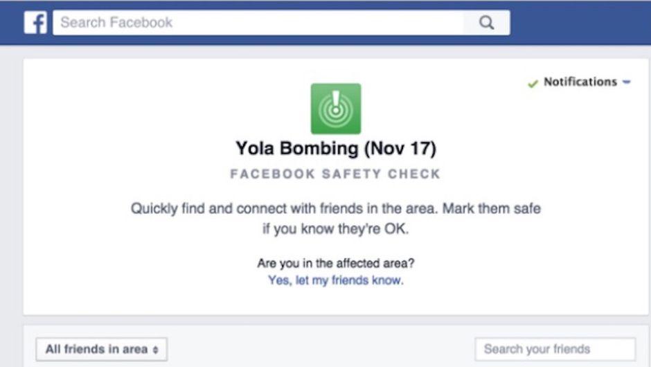Facebook activa el 'Safety Check' tras los bombardeos en Nigeria