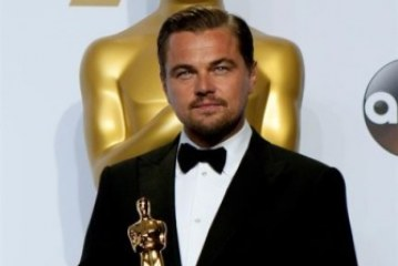 "Leonardo DiCaprio, Óscar al mejor actor por ""The Revenant"""