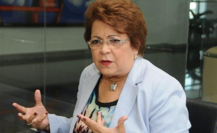 Alejandrina Germán dice es urgente reunión de CP del PLD para tratar supuestos sobornos de Odebrecht