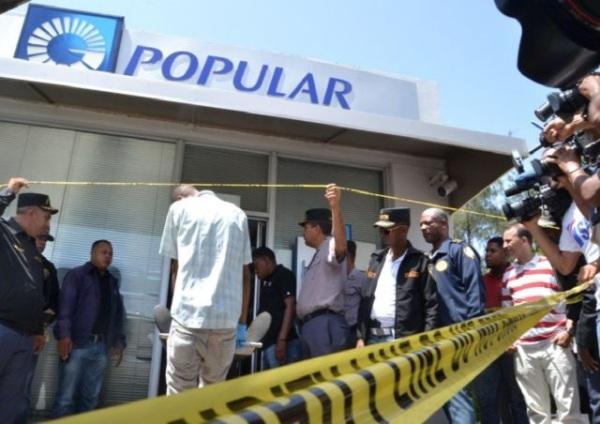 Roban dos bancos en una semana; jefe PN propone pacto; identifican ladrones