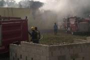 VIDEO – incendio se produce en cárcel de El Seibo sin que se reporten victimas