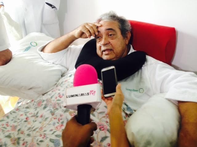 Dan de alta al cantante Anthony Ríos