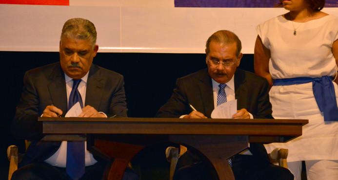 Medina y Vargas prometen desarrollar el país en la seguridad, la economía y la salud