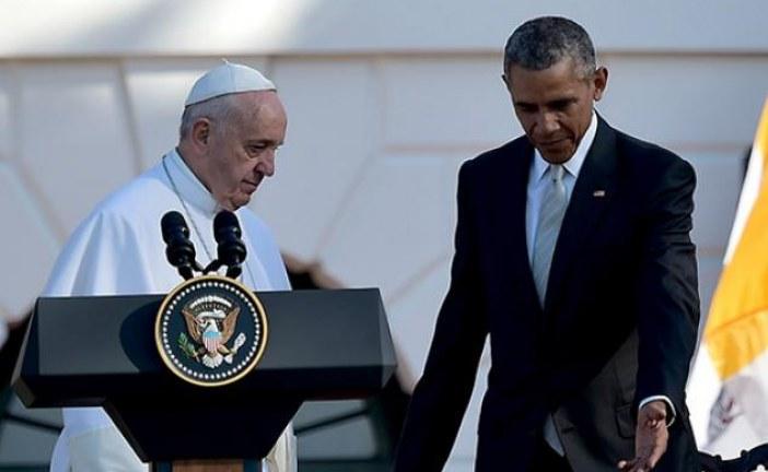 """Obama agradece """"inestimable apoyo"""" del papa al nuevo comienzo con Cuba"""