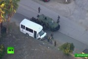 EN VIVO: El supuesto tercer autor del tiroteo en San Bernardino se atrinchera en una iglesia